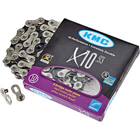 KMC X-10-93 Kette silver/grey